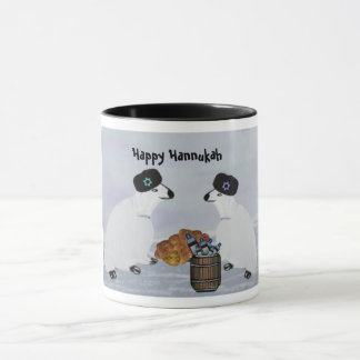 Polar Bears Hannukah Nights Mugs