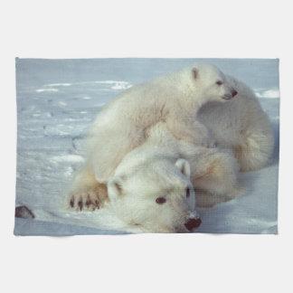 Polar Bears Kitchen Towels