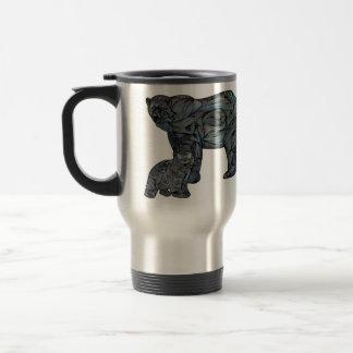 Polar Bears Stainless Steel Travel Mug
