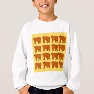 Polar bears on Gold Sweatshirt
