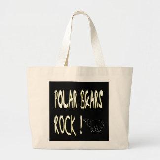 Polar Bears Rock! Tote Bag