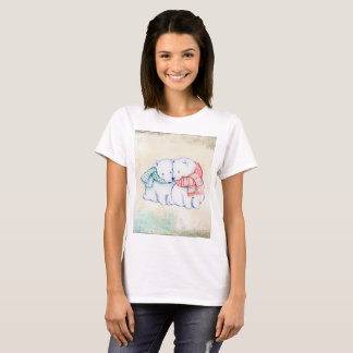 Polar Bears women's Basic T-Shirts