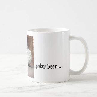 Polar beer basic white mug
