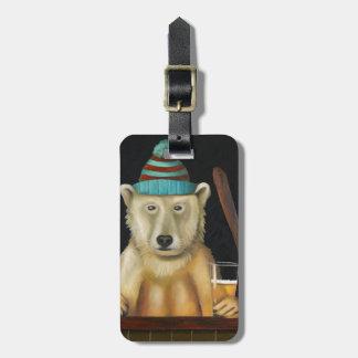 Polar Beer Luggage Tag