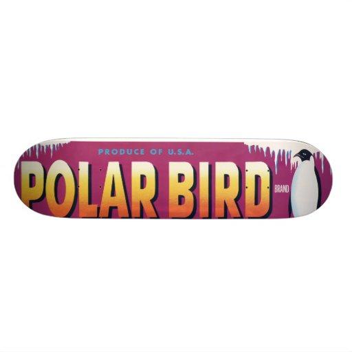 Polar Bird Skateboard