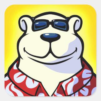 Polar Bowler Icon Sticker