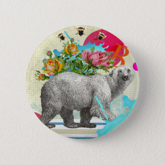 """Polar Dance 2"" badge 2 Inch Round Button"