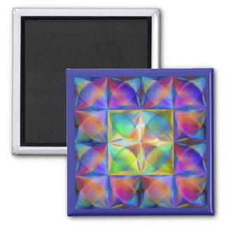 Polar Design II Square Magnet