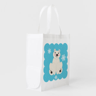 Polar Friend Reusable Grocery Bag
