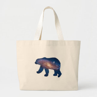 POLAR GALACTIC LARGE TOTE BAG