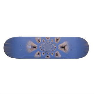 Polar Inversion Blue Spider Skate Board Decks