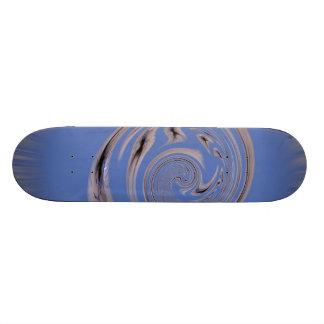 Polar Inversion Twist Blue Spider Skate Decks