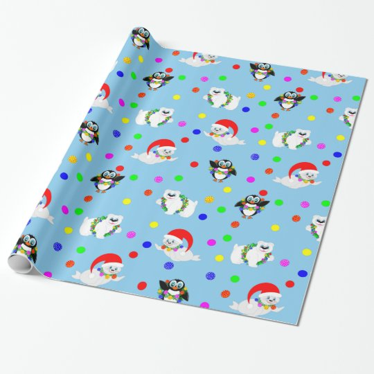 Polar Kids Wrapping Paper