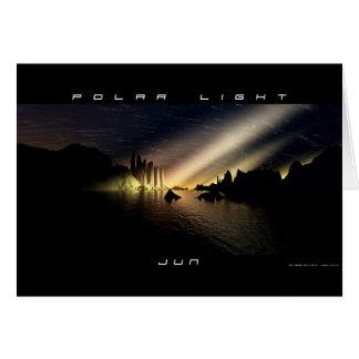 Polar Light Card