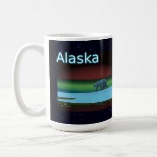 Polar Lights Polar Bear Basic White Mug