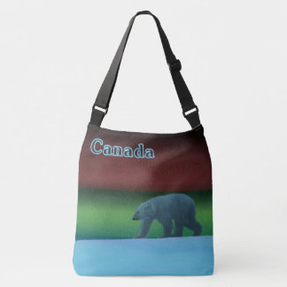 Polar Lights Polar Bear - Canada Crossbody Bag