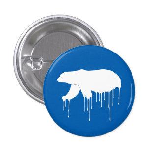 Polar Melt Down 1 Inch Round Button