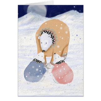 Polar Mom Card