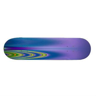 Polar Neon Skateboard