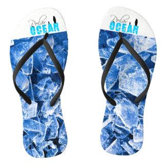 Polar Ocean Flip Flops