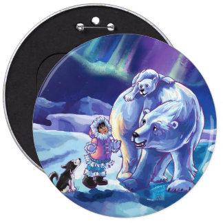 Polar Pals Buttons