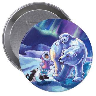 Polar Pals Pinback Buttons