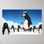 Polar Penguin Poster
