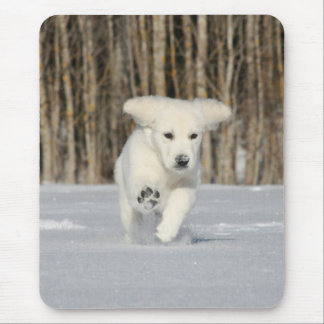 Polar Puppy Mouse Pad