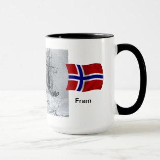 "Polar region ""Fram"" in the ice Mug"