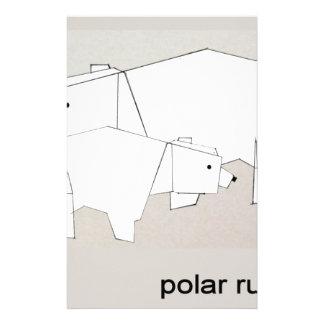 polar rubs stationery