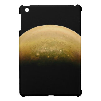 Polar View of jupiter Case For The iPad Mini