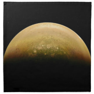 Polar View of jupiter Napkin