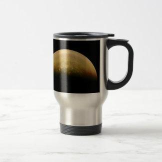 Polar View of jupiter Travel Mug
