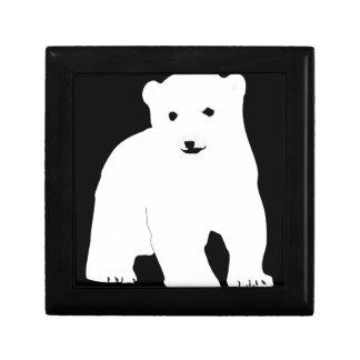PolarBearCubBlackSF Gift Box