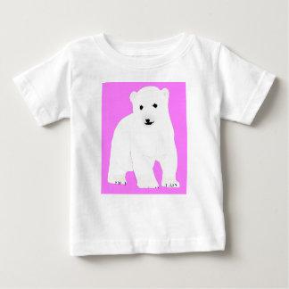PolarBearCubPinkSF Baby T-Shirt