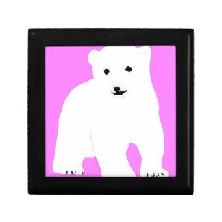 PolarBearCubPinkSF Gift Box