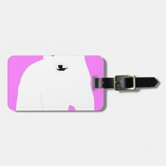 PolarBearCubPinkSF Luggage Tag