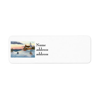 Polaris Sunset Avery Return Address Labels
