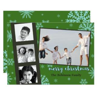 """Polaroid Photo Frame Custom Christmas Card 5"""" X 7"""" Invitation Card"""