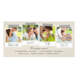 Polaroid Prints Save The Date Photo Cards - Khaki