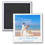 Polaroid Style Save the Date Magnet