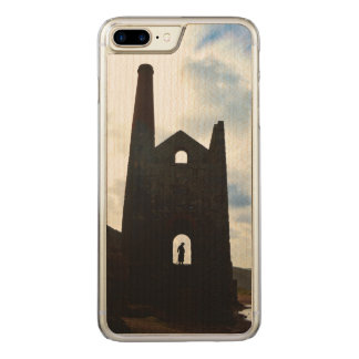 Poldark Country Mine Ruins Cornwall England Carved iPhone 8 Plus/7 Plus Case