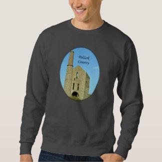 Poldark Country Mine Ruins Cornwall England Sweatshirt