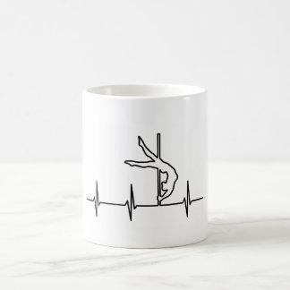 Pole Dance Heartbeat Coffee Mug