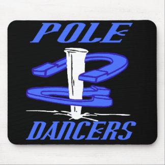 POLE DANCERS MOUSE PAD Blue 1