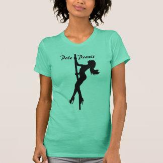 Pole   Praxis Climbing Green T-Shirt