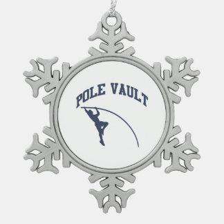 Pole Valt Pewter Snowflake Ornament