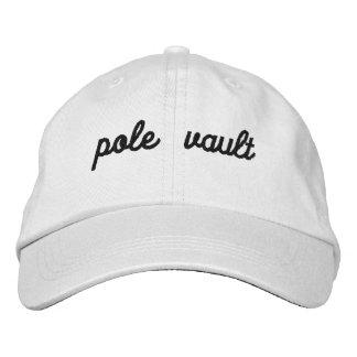 pole vault hat embroidered baseball cap