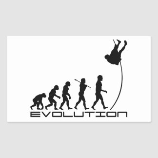 Pole Vault Sport Evolution Art Sticker