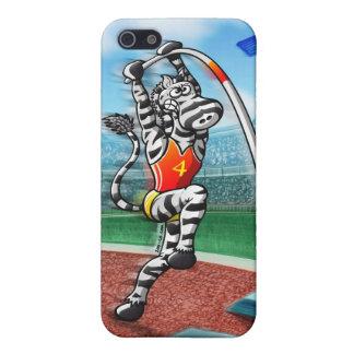 Pole Vault Zebra iPhone 5 Cover